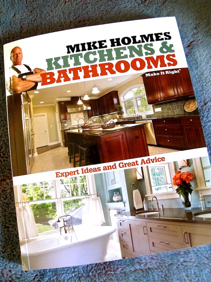 Book Review-Mike Holmes: Kitchens and Bathrooms | HomeJelly