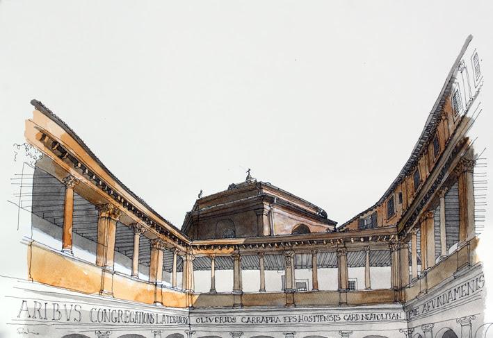 F Barilari - Chiostro del Bramante_Xlt