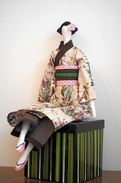 Tilda Japanese - free pattern   Doll clothes   Pinterest