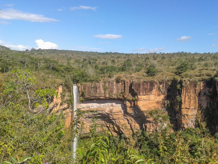 Chapada dos Guimaraes is a large national park in the Brazilian state of Mato Grosso