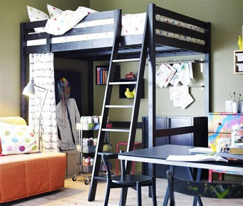 ikea stora loft bed  products  love pinterest lofts