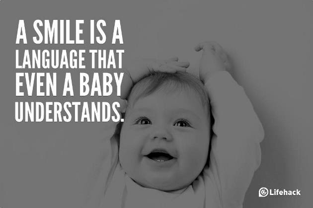 Baby Smile Quote Quote Number 691639 Picture Quotes