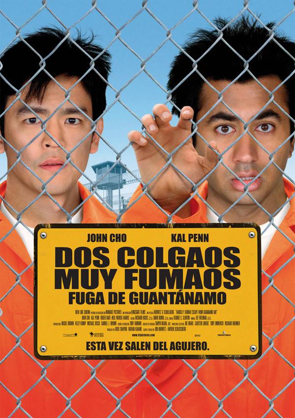 Dos colgaos muy fumaos: Fuga de Guantánamo (Jon Hurwitz, Hayden Schlossberg, 2.008)