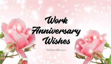 Work Anniversary Wishes and Appreciation Messages   WishesMsg