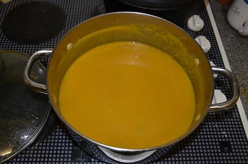 pumpkin soup Oct 13