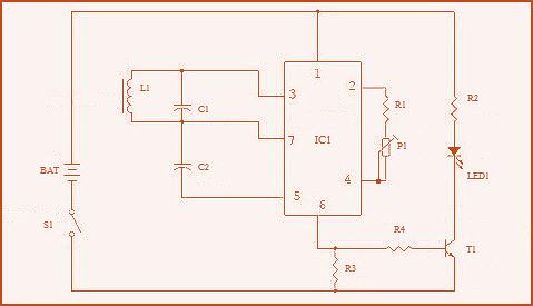 inductive proximity sensor obsolete circuit