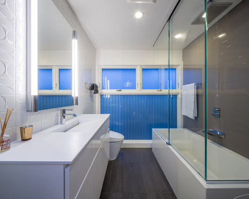 Galley Bathroom Home Design Ideas, Pictures, Remodel and Decor