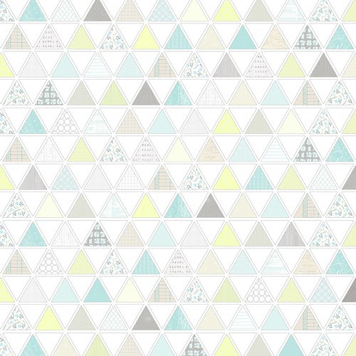 1 pattern-filled triangles - free printable digital patterned paper