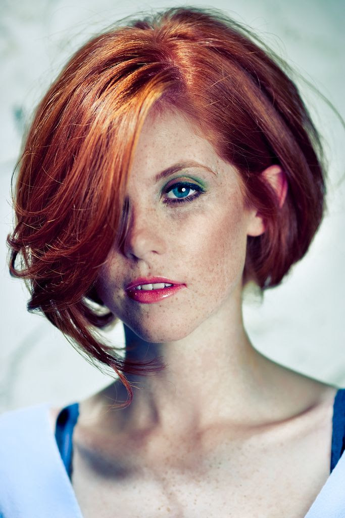 Hairstyles Short Red Bob Hairstyles