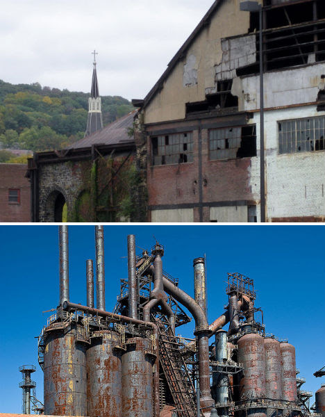 Abandoned Bethlehem Steel Factory 2