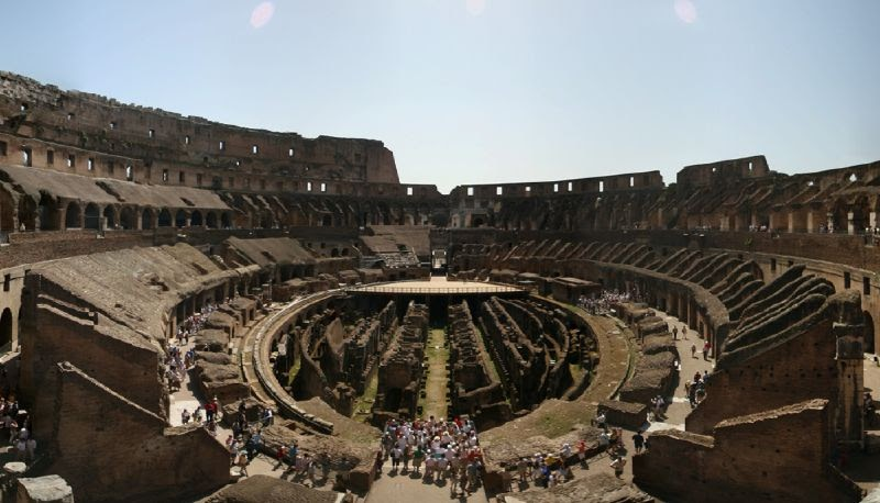 Panoramic Images Of The World: Colosseum Of Rome