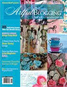 I'VE BEEN FEATURED IN ARTFUL BLOGGING/SPRING 2008