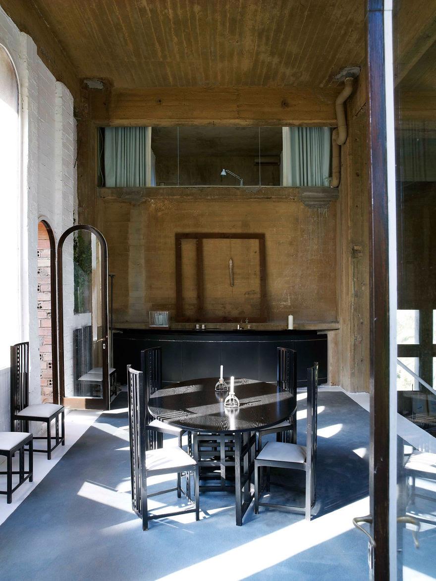 Ricardo Bofill casa personal cemento 14