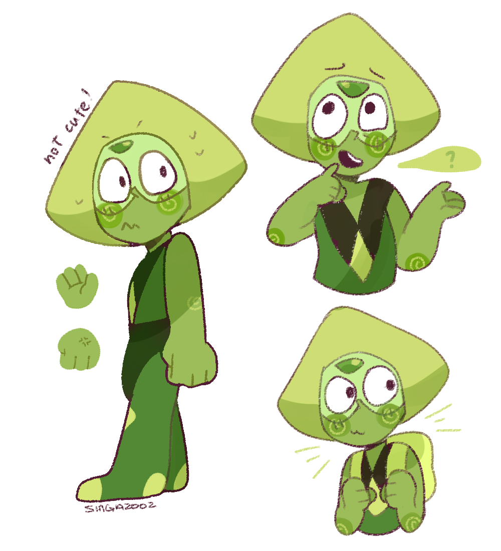 Some random doods of Peridot (ft. different style)