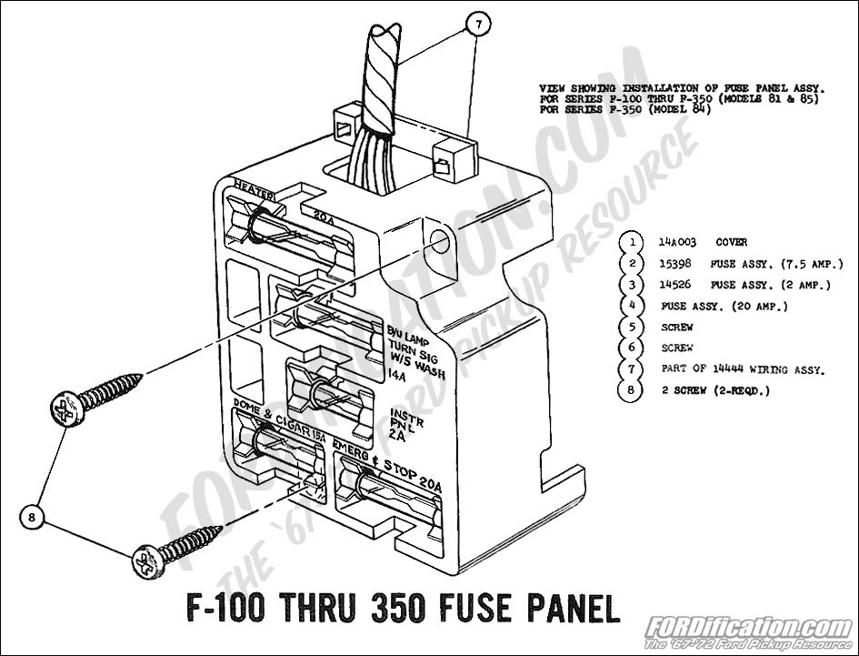 1968 Ford F 250 Fuse Box Diagram Wiring Diagram Understand Understand Lionsclubviterbo It