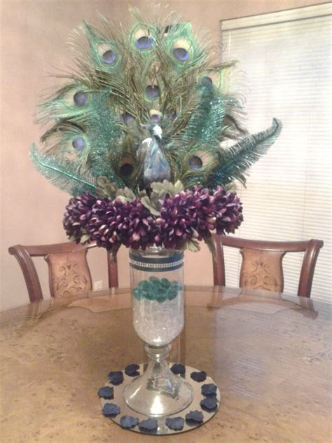 Majestic Peacock Centerpiece ? Raji Creations