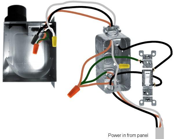 A Bath Fan Light Wiring Diagram - Wiring Diagram Networks | Bathroom Vent Wiring Diagram |  | Wiring Diagram Networks - blogger