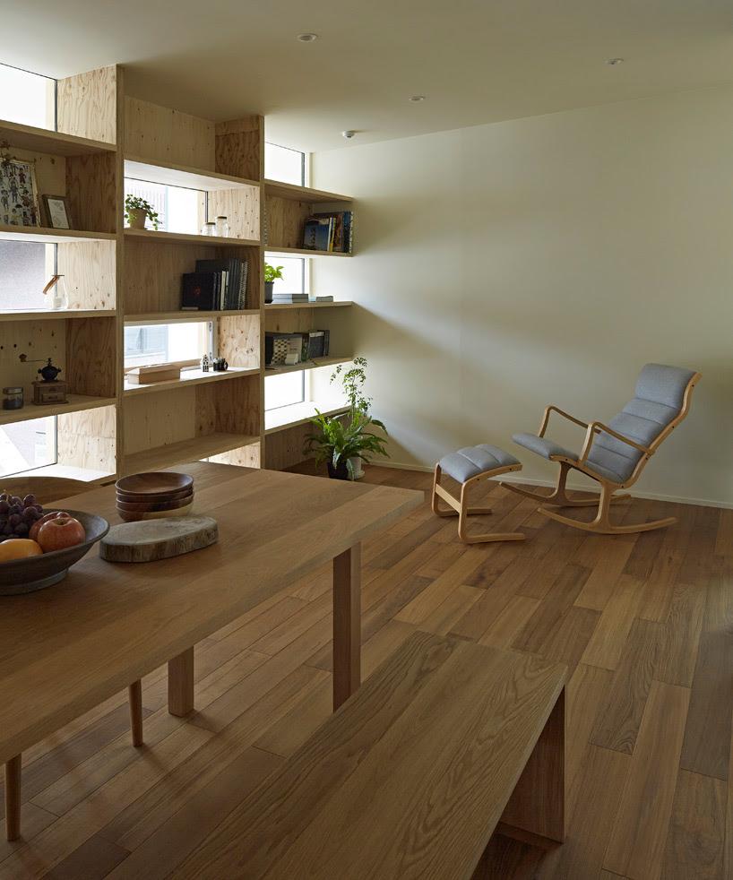 takeshi shikauchi checkered house japan designboom