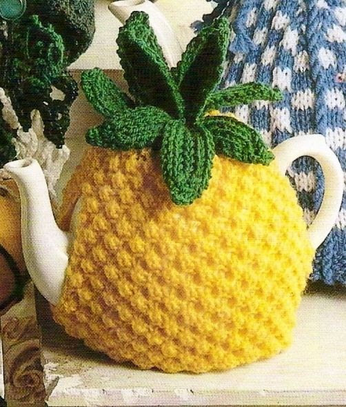 A Linda pineapple tea cozy. Kootation.com