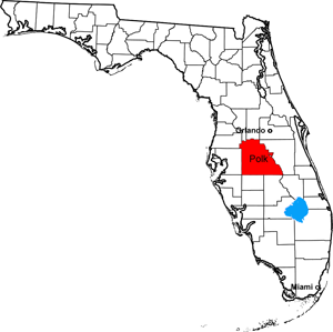 Image Result For Map Of Polk County Fl