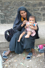 A Muslim Woman Begs by firoze shakir photographerno1