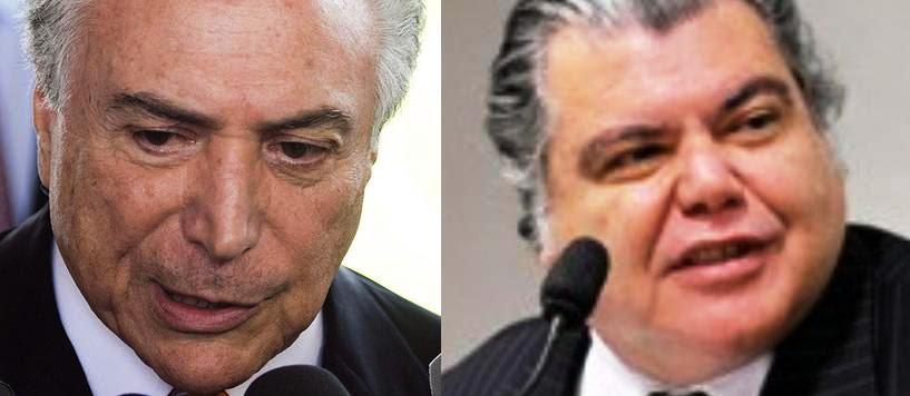 Michel Temer repetiu mesmo argumento que Sarney Filho... alinhamento