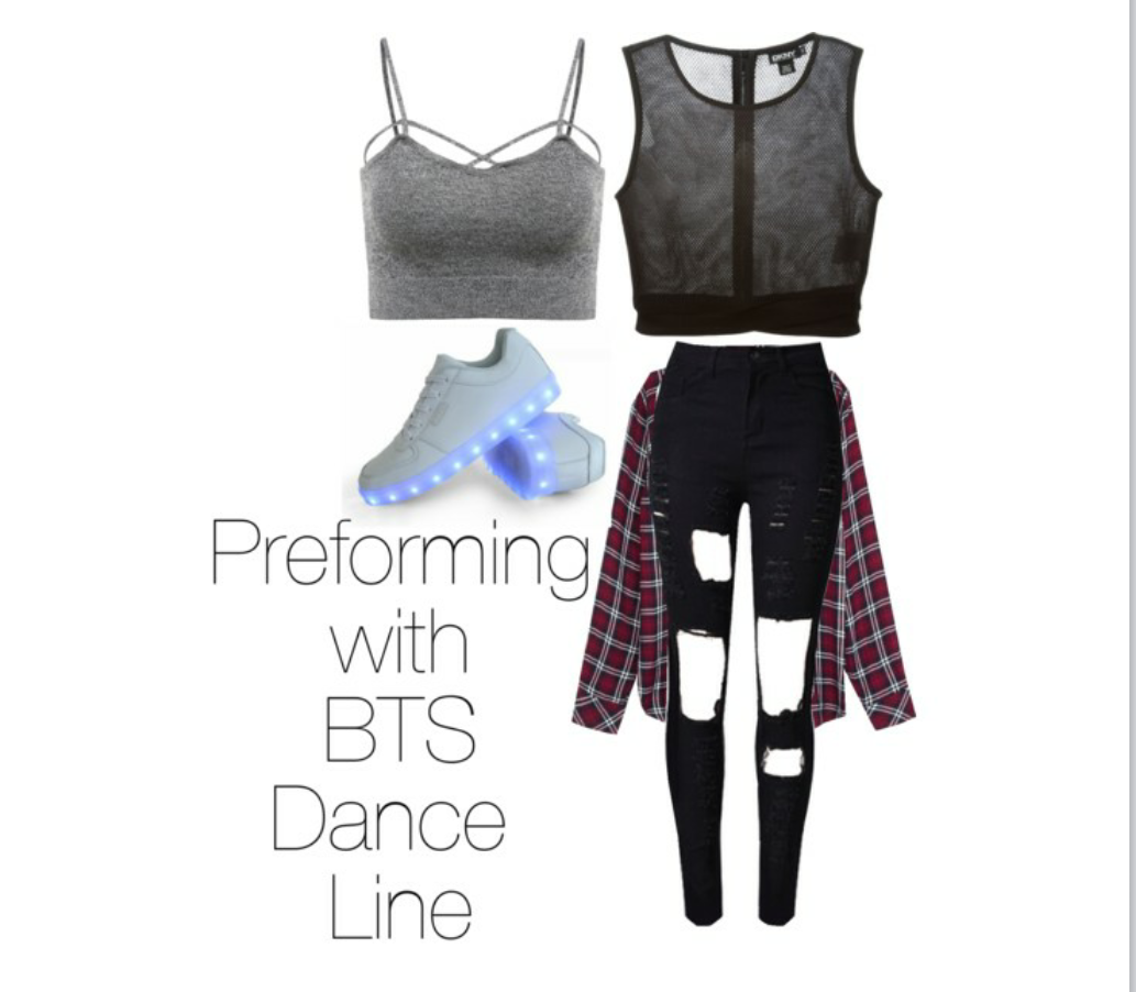 preforming with bts i got inspiredtheir  kpop outfits