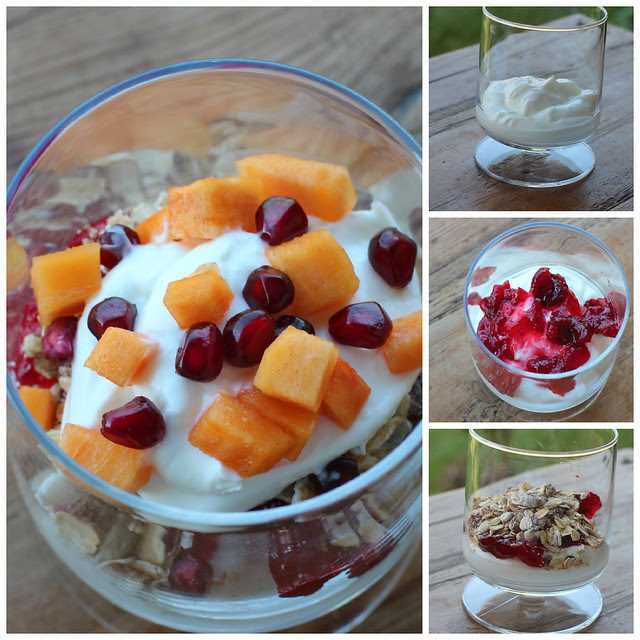 Cranberry Sauce Fall Parfait