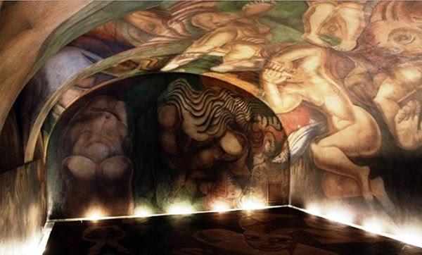 El Mural Inconcluso De Siqueiros