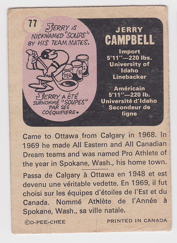 CFL Jerry Campbell 2 - Back