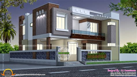modern style indian home kerala design floor plans dma