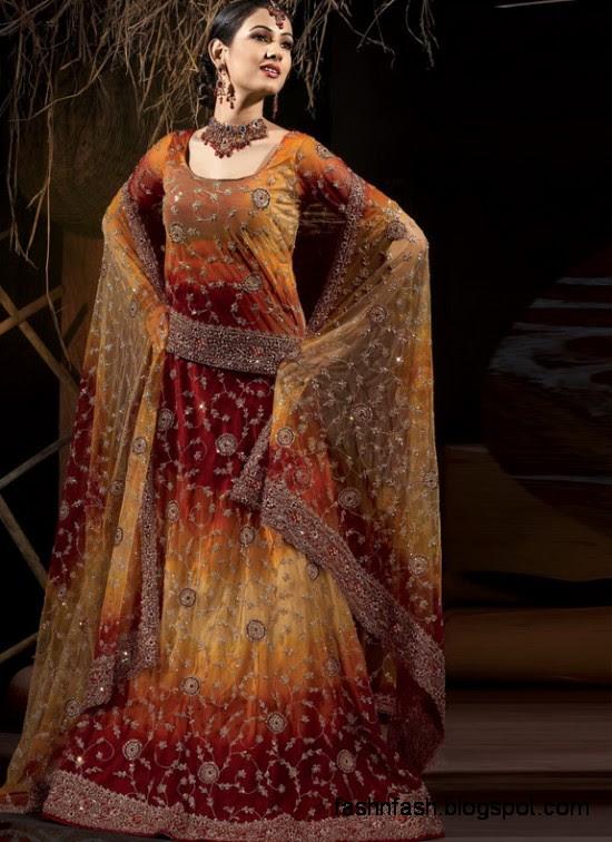 Indian-Pakistani-Beautiful-Bridal-wedding-Dress-Collection-2012-2013-Bridal-Saree-Lehanga-1