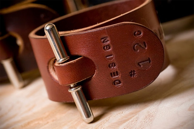 Palmer & Sons Leather Cuffs No 12c 02