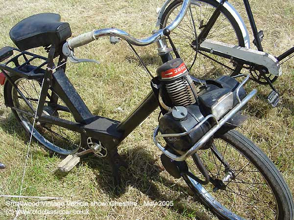Powered bicycle from Velosolex