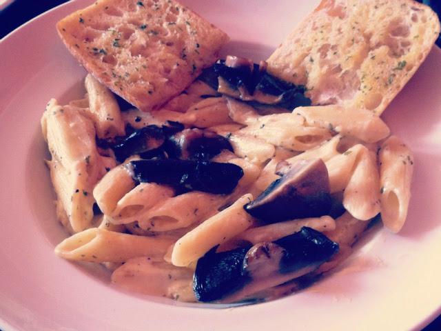 15 vegetarian food uk blog mushroom pasta lifestyle
