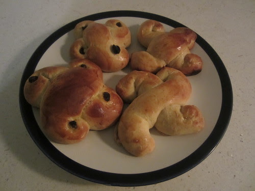 Lucia Buns for St. Lucia Day