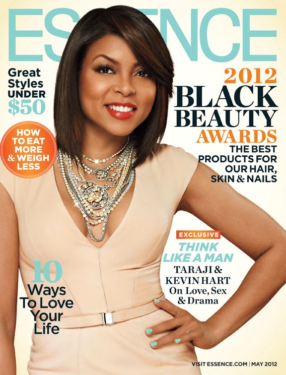 Essence - May 2012, Taraji P. Henson