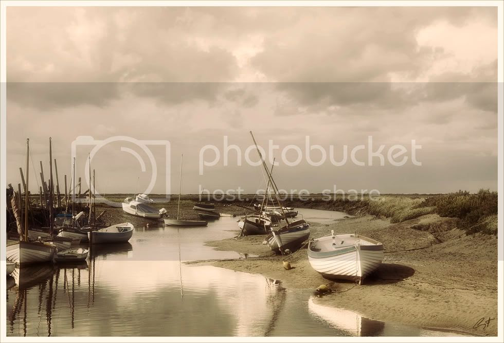 Blakeney,Norfolk,Boats