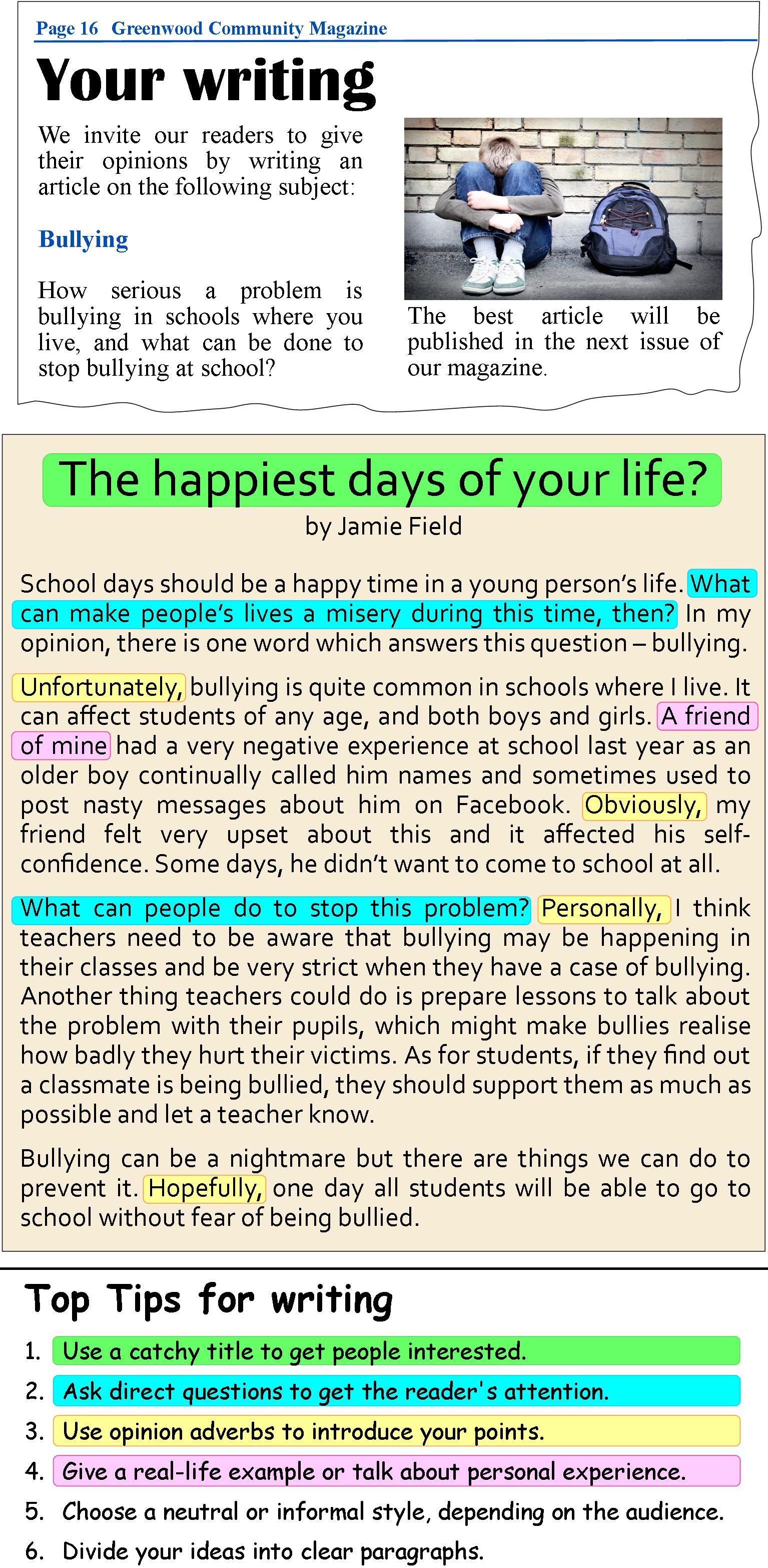 A Magazine Article Learnenglish Teens British Council