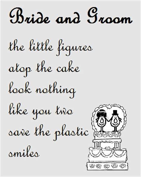 Bride And Groom   Congraulations Poem. Free