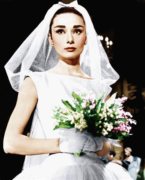 Photos of Audrey Hepburn's 3 Wedding Dresses   Brides