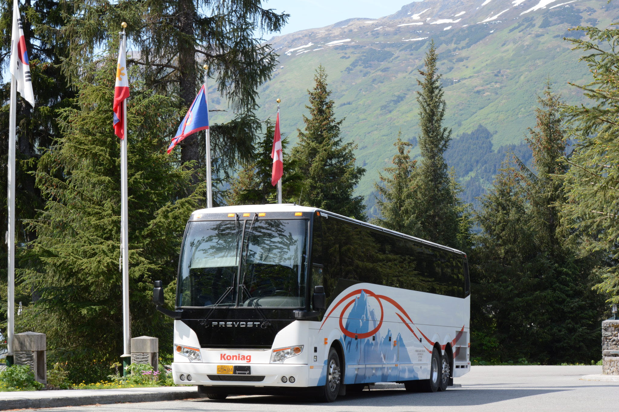 Grand Alaska Escorted Guided Bus Tour Denali Valdez
