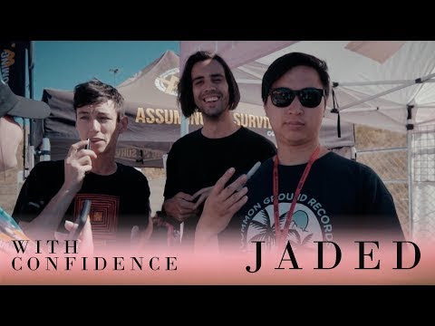 "With Confidence Releases ""Jaded"" Video"