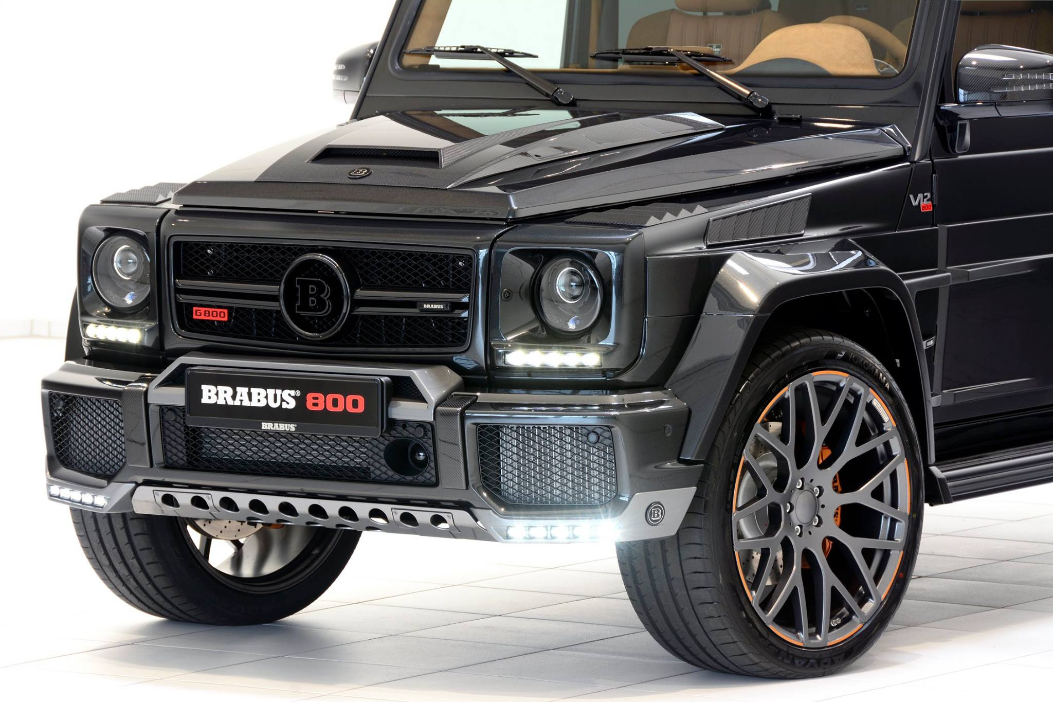 Brabus 800 is a Mercedes-AMG G65 with More Oomph ...