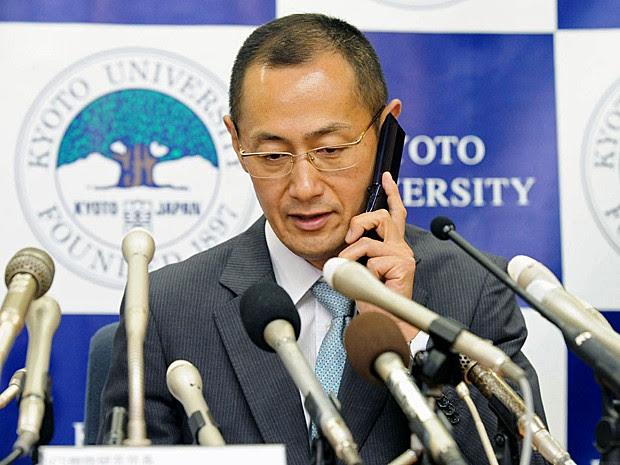Yamanaka Nobel Medicina 2012 (Foto: Kyodo News/AP)