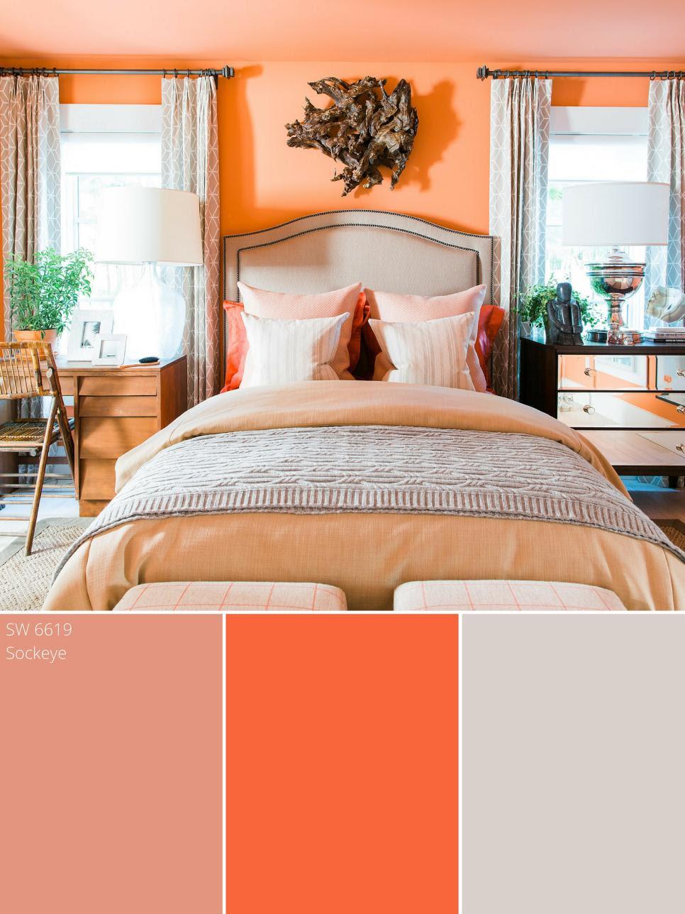 Peach Color Palette - Peach Color Schemes | HGTV