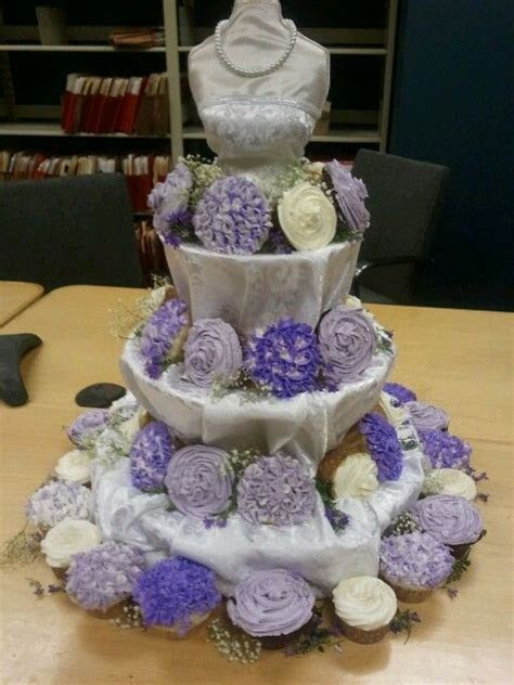 Bridal Dress Cupcake Stand   Melissa's Wedding Shower at