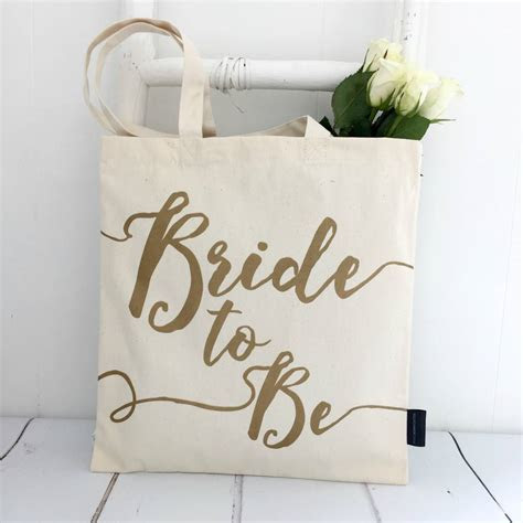 'bride to be' wedding tote bag by kelly connor designs