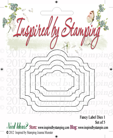Inspired by Stamping Fancy Labels 1 Nested Die