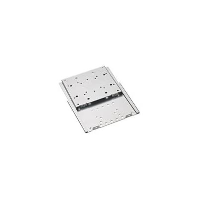 OmniMount PRO 37FM-F - Mounting kit ( wall mount ) for flat panel - steel - silver - mounting interface: 100 x 100 mm, 75 x 75 mm, 100 x 200 mm, 200 x 200 mm, 200 x 100 mm
